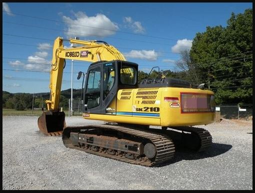 Kobelco SK210 LC Hydraulic Excavator Price Specification Review & Images