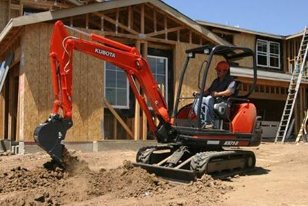 Kubota KX71-3 Mini Excavator Specifications