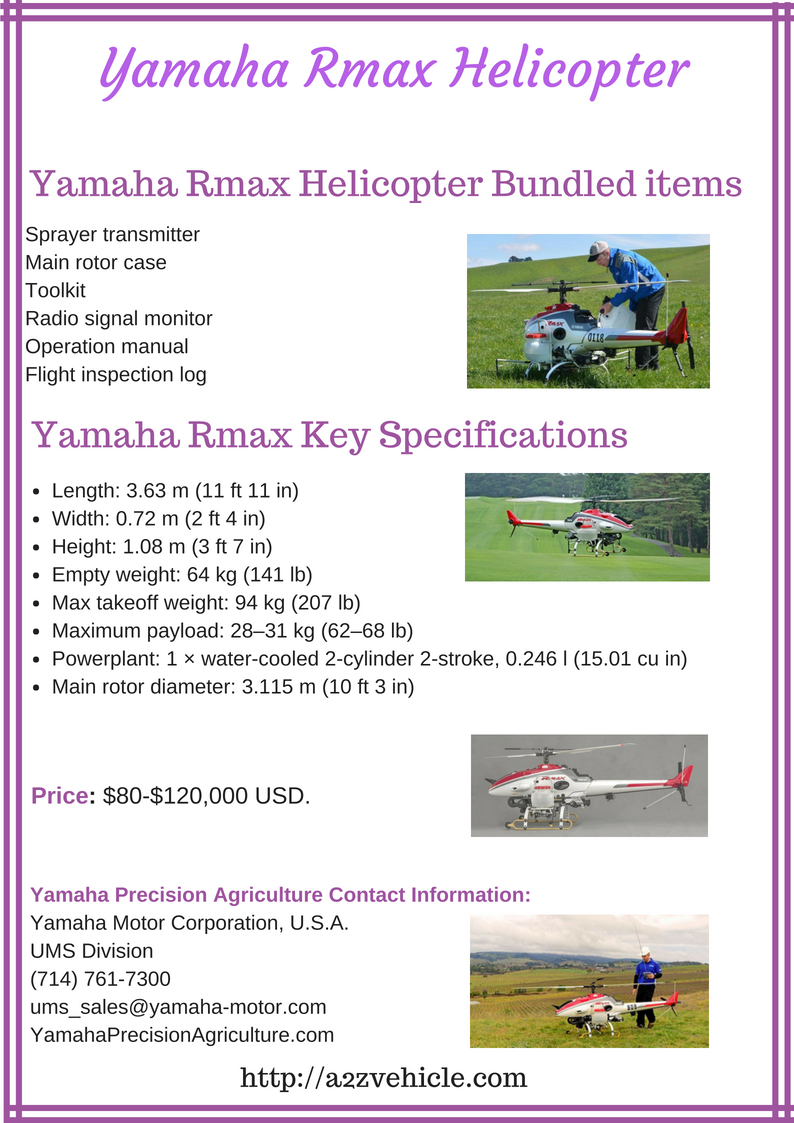 Yamaha Rmax Helicopter USA Price