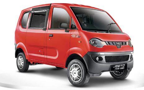 Mahindra Jeeto Minivan Colors 1