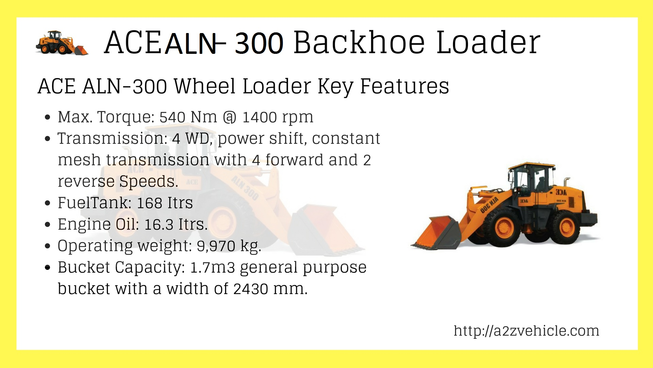 ACE-ALN-300-Wheel-Loader-Price-specs