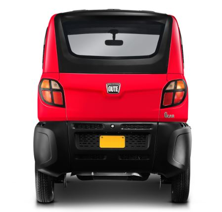Bajaj Qute Small Car Specifications