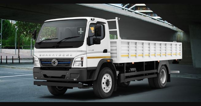 Bharat Benz 1214R Medium Duty Truck Price Specification Mileage Images