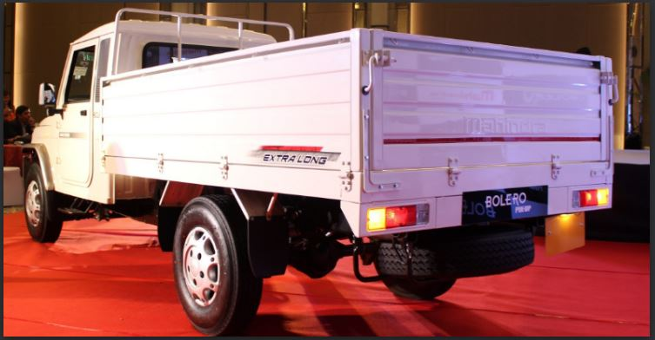 Mahindra Big Bolero Pikup Extra Long specifications