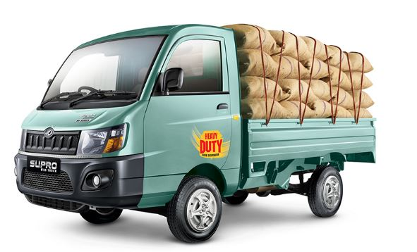 Mahindra Supro Minitruck Specification