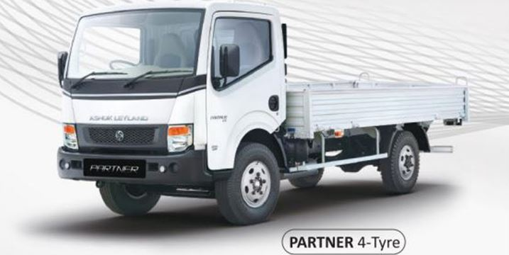 Ashok Leyland Partner 4 tyre Price in India