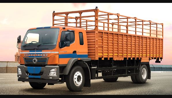 Bharat Benz 1617R Heavy Duty Haulage Truck Price Specs Mileage & Images