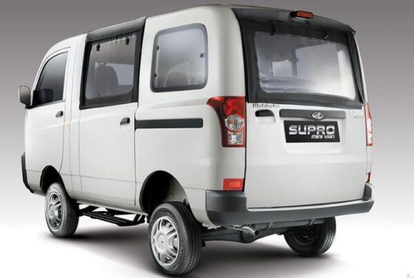 Mahindra Supro Mini Van Mileage