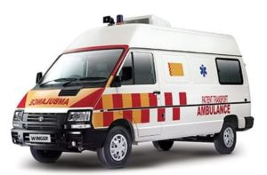TATA WINGER AMBULANCE 3488 price in India
