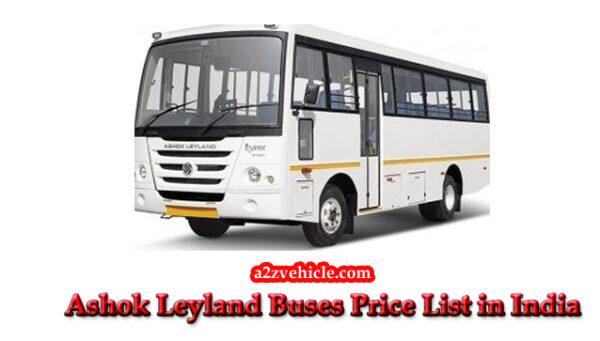 ashok leyland buses price list