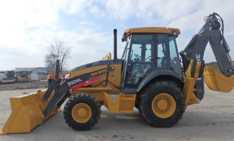 John Deere 310SL Backhoe Specifications