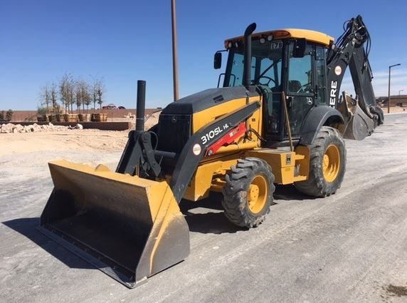 John Deere 310SL HL Backhoe Loader Key Features