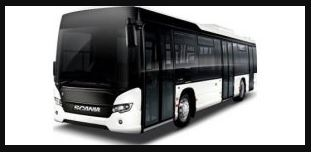 Scania Citywide Bus Price in India
