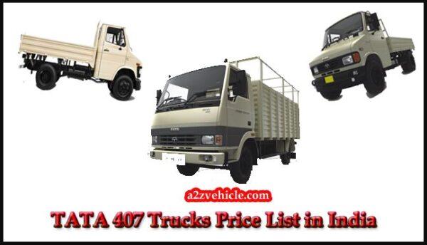 TATA 407 Price List