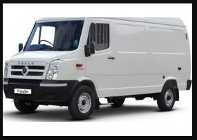 FORCE TRAVELLER DELIVERY VAN Price in India