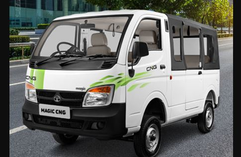 TATA Magic CNG Van Price Mileage Specs Features & Review