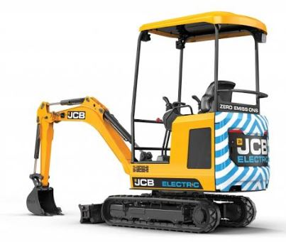 JCB 19C-1E Electric Mini Excavator Price