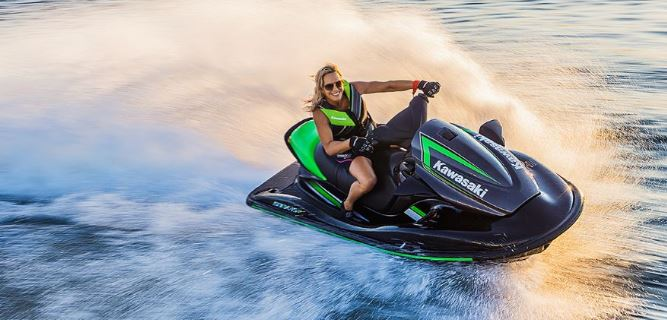 Kawasaki jet ski STX-15F top speed