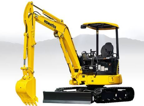 Komatsu PC35MR-5 Mini Excavator Price