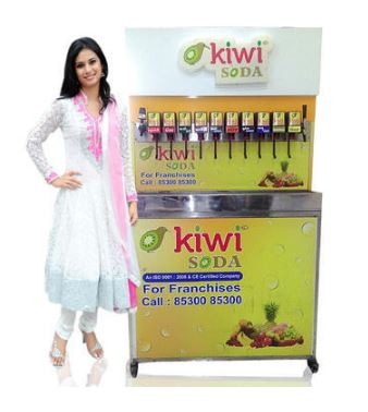 Kiwi Soda Fully Automatic Fountain Machine