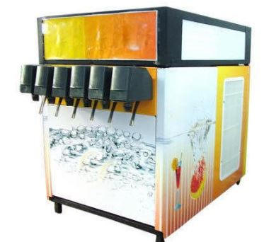 Stainless Steel Commercial Soda Fountain Dispenser