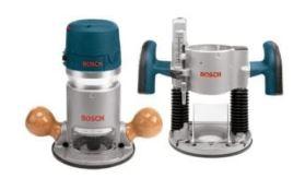 Bosch 1617EVSPK Wood Router Kit
