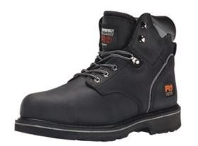 Timberland PRO Men's 6″ Pit Boss Steel-Toe