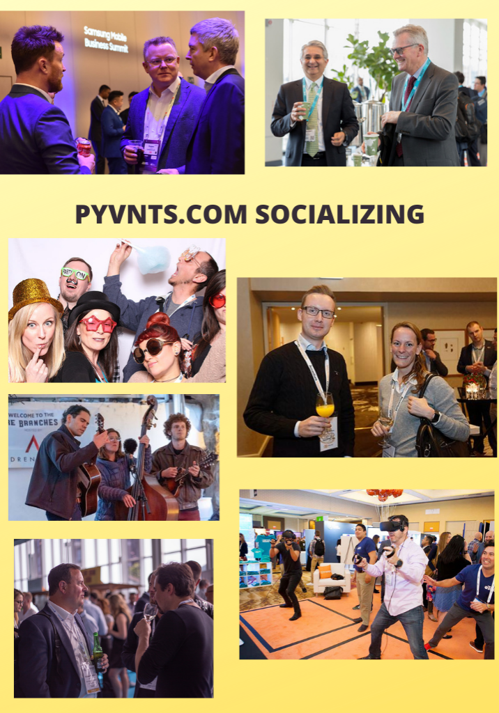 PYVNTS Global Payment Events - Socializing