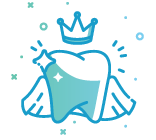Dental Crown and Bridge Icon