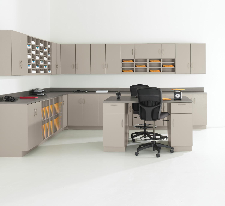 Teknion modular cabinets