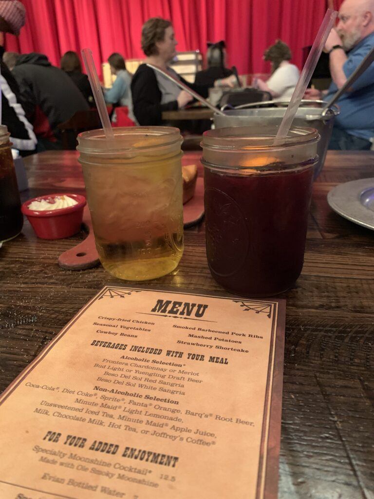 Menu at Hoop Dee Doo Review