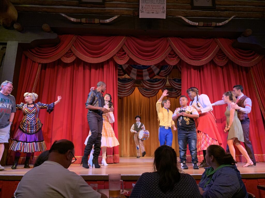 Audience participation at Hoop Dee Doo Revue