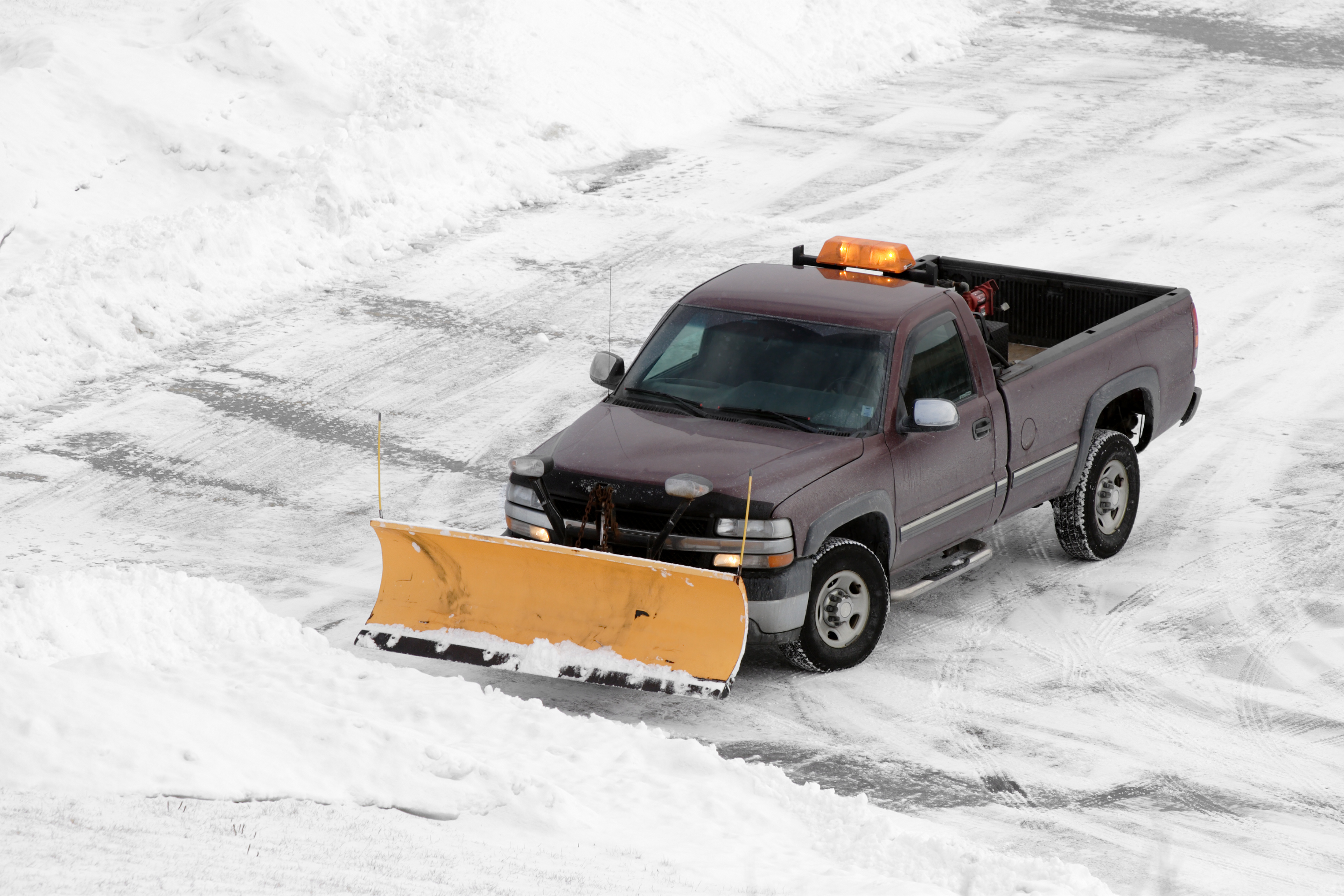 Chcicago's best snow plowing equipment