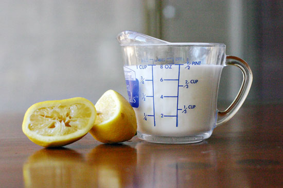 coconut milk buttermilk