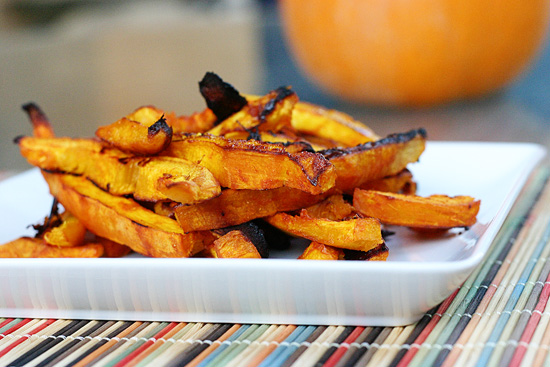 Sweet & Spicy Pumpkin Fries Recipe