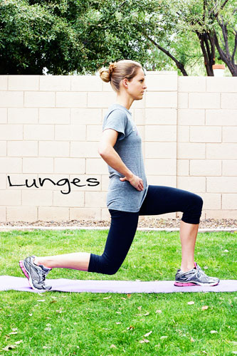 how to lunge