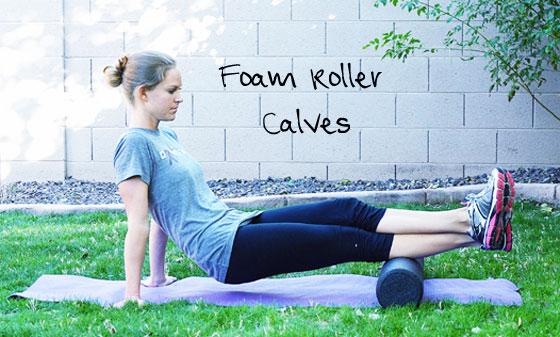 foam roller calves