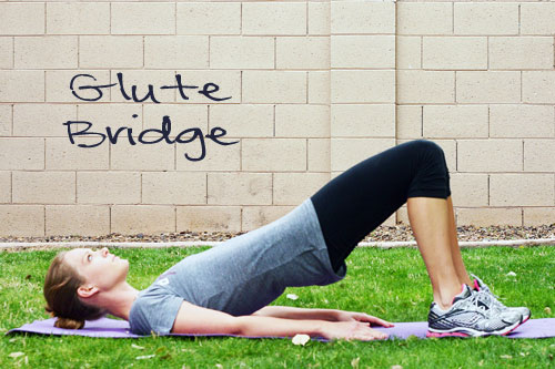 Inspired RD Exercise Library: Glute Bridge