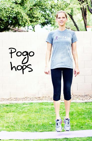 Inspired RD Exercise Library: Pogo Hops