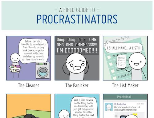 The 12 Types of Procrastinators