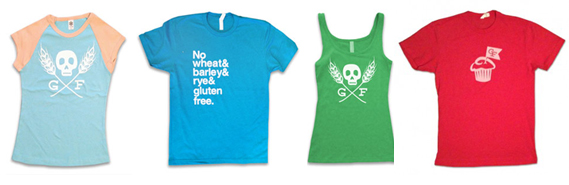 Gluten Free Shirts by Celiac and the Beast