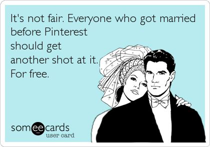 Pre-Pinterest Weddings