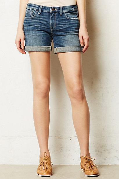 Anthropologie Pilcro Stet Roll-Up Shorts