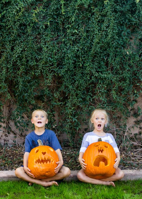 Halloween Pumpkin Faces | InspiredRD.com