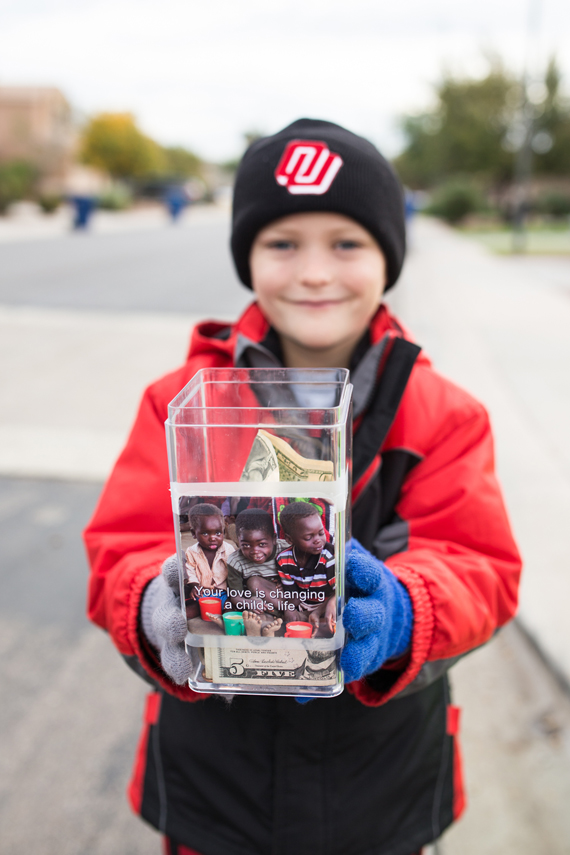 Advent Coffee Stand to help kids in Malawi