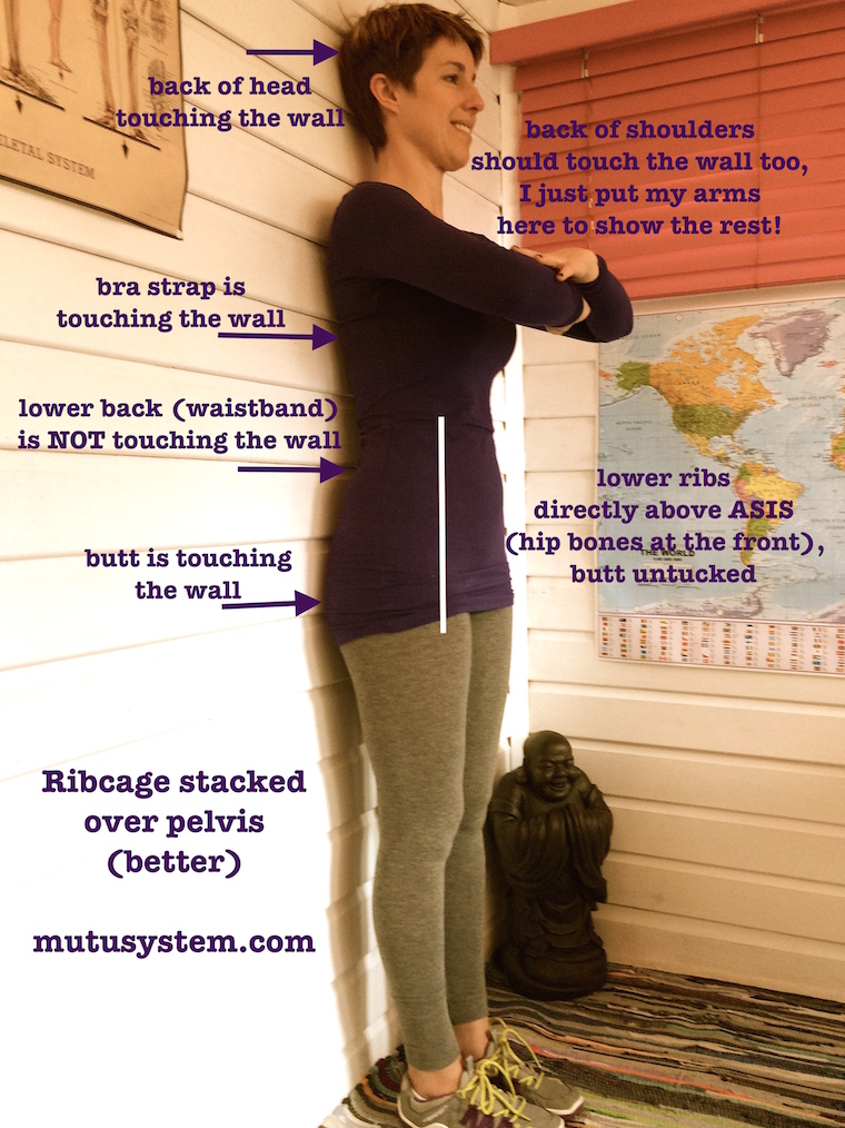 5 Mom Posture Tips (for your tummy and pelvic floor) | InspiredRD.com