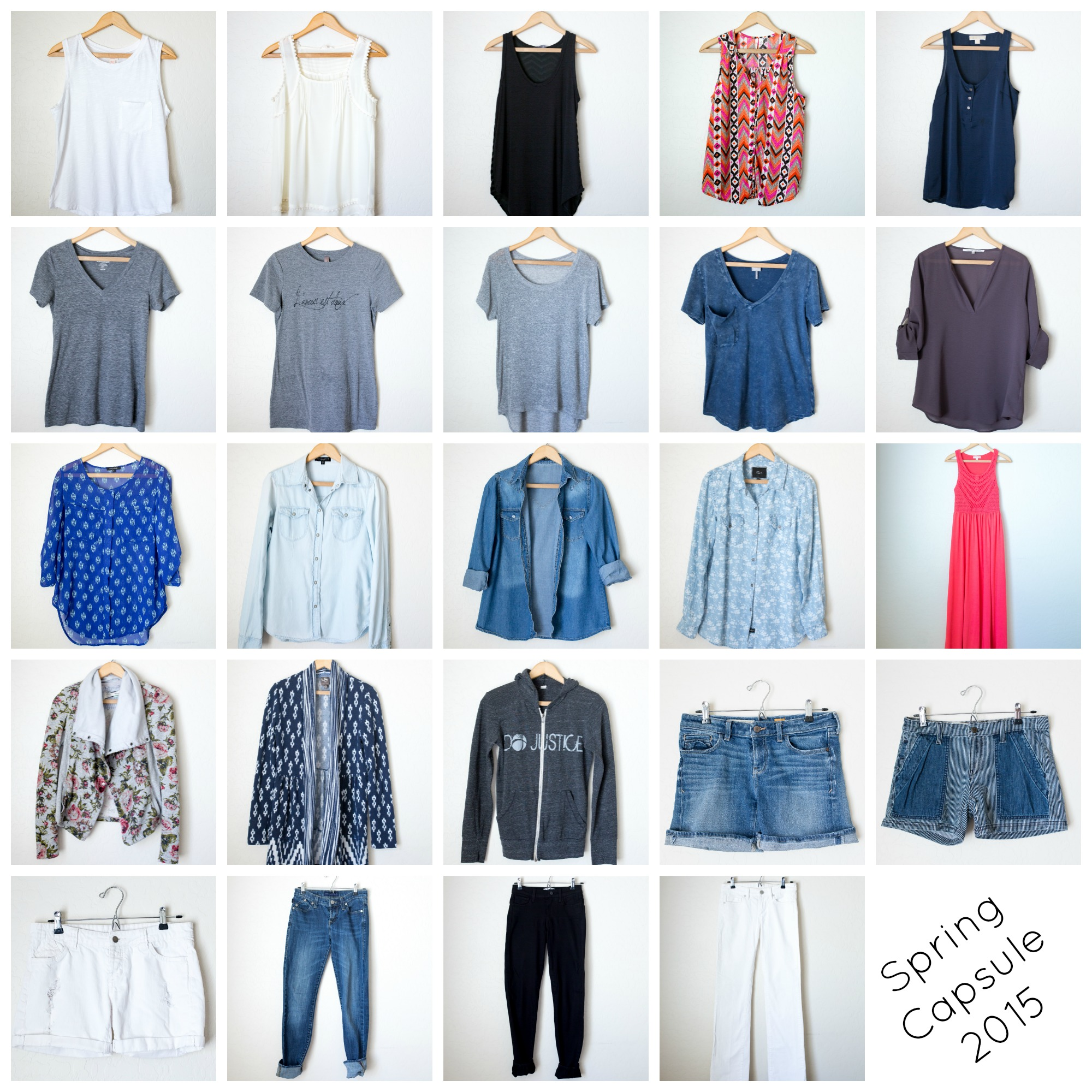 How to find your style and create a capsule wardrobe. | InspiredRD.com