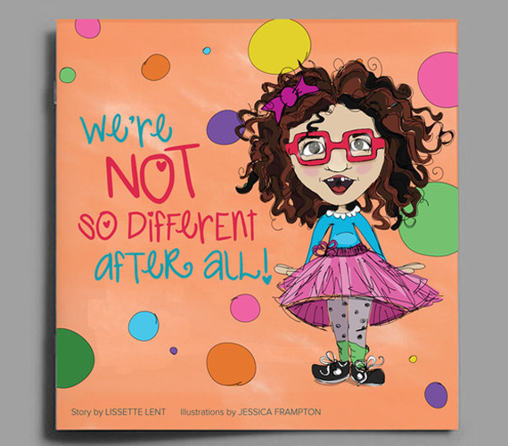 """""""We're Not So Different After All"""", is a playful story of acceptance and understanding featuring Maggie Hope, a little girl with special needs. (Donate to the Kickstarter campaign!)"""