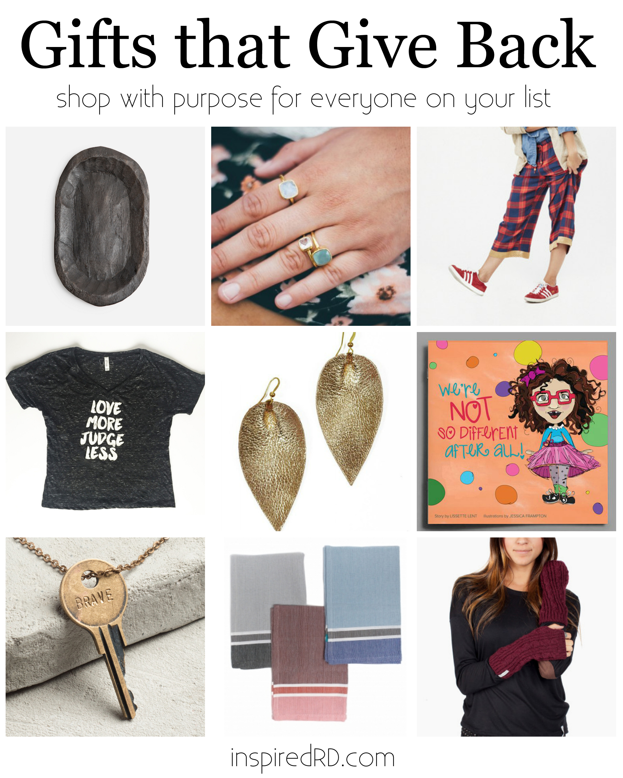What a great gift guide! Shop with purpose this holiday season...all for under $50!
