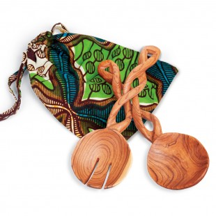 Win a set of these beautiful hand-carved spoons from Kenya!